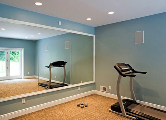 Want to install a gym mirror contact bear glass