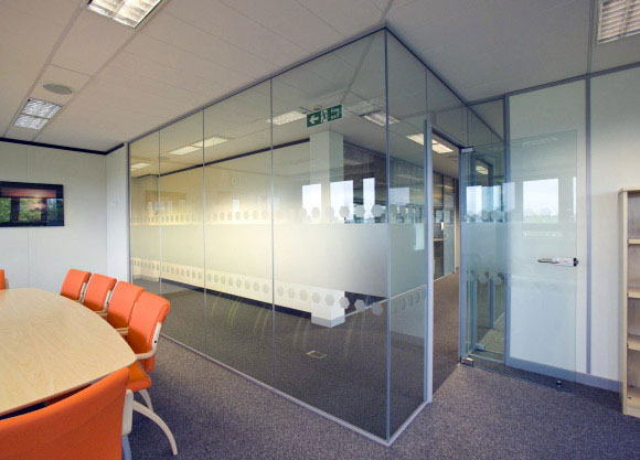 Best Office Partition Wall Installation At Bear Glass